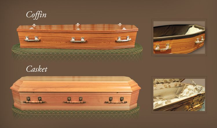 Choosing the Coffin or Casket - Burstows Funeral Care