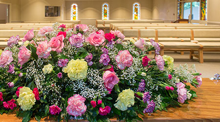 A word about funeral costs