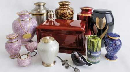 Memorial Urns and Jewellery
